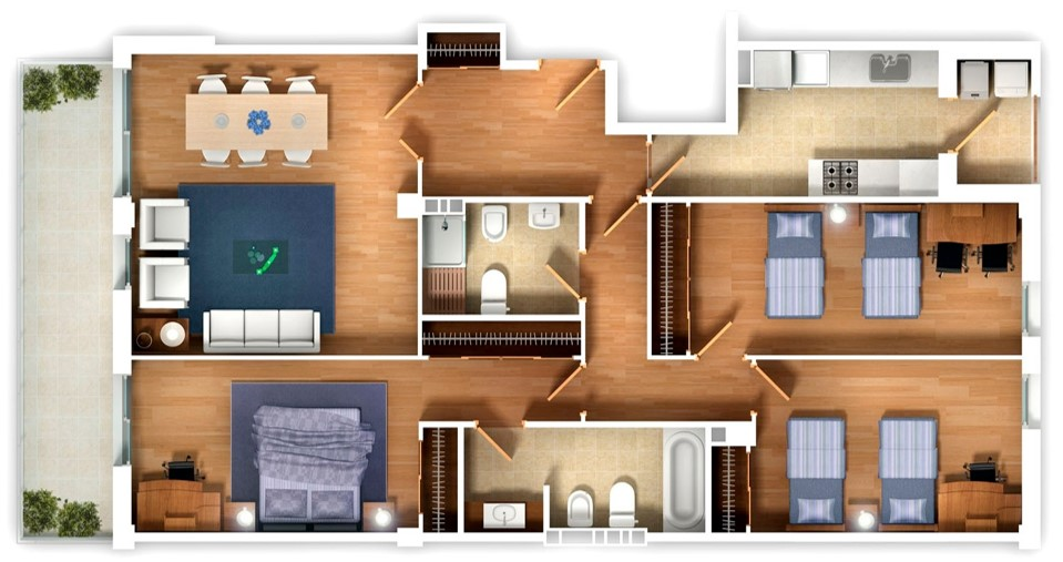 Mayfair Gardens Floor Plan